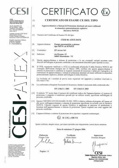 company-producers-pumps-italian-production-zparrow-certificato-cesi